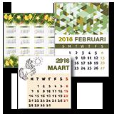 Maatwerk kalenders